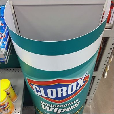 Giant Clorox Dimensional Goes Big-Time