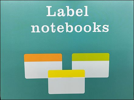 Color-Coded Post-It Note Category Management