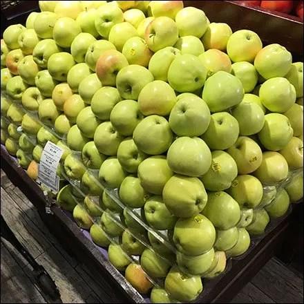 Gourmanoff Apple Produce Pyramid