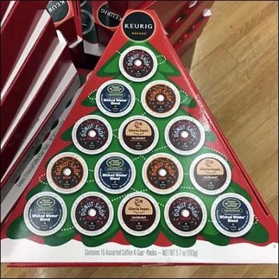 Keurig Coffee K-Cup Christmas Tree