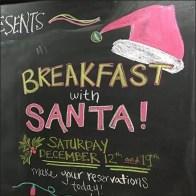 Breakfast Oysters With Santa At Wegmans