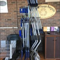 Snow Shovel Assortment By Loop Hook