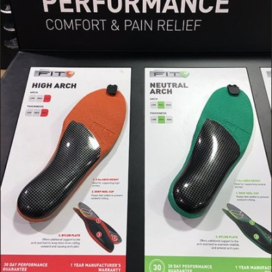 SofSole Color Code Insole Offerings