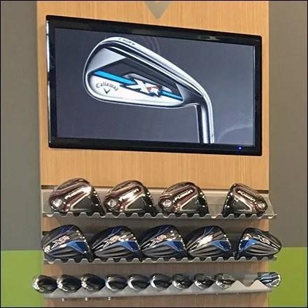 Golf Store Fixtures