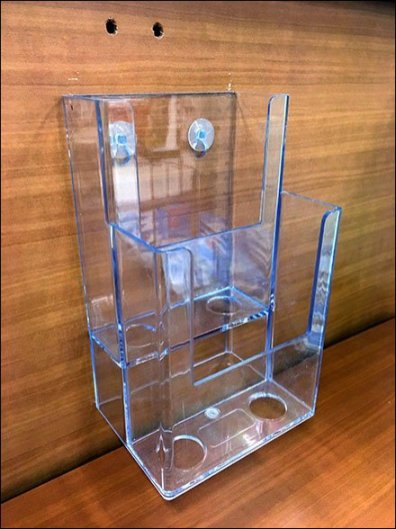 tiered-plastic-literature-holder-push-pinned-3