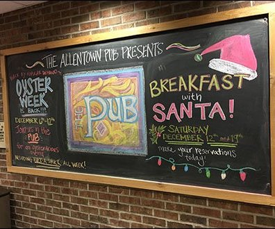 Breakfast Oysters With Santa At Wegmans