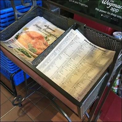 Happy Thanksgiving Literature Rack of Recipes
