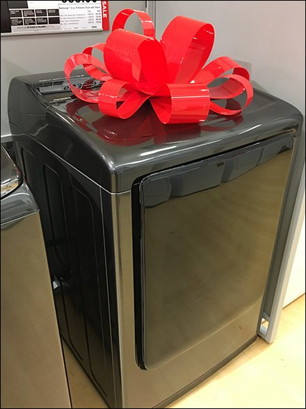 Major Appliance Gift Wrap for Christmas