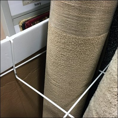 Area Rug Wire Divider Carpet Merchandiser