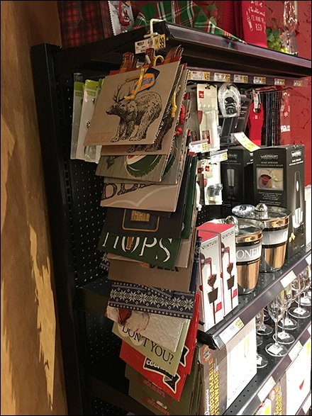 Beer Gift Bags By Strip Merchandiser