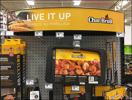 Char-Broil Live It Up Griller's Display