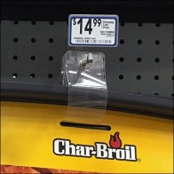 Char-Broil Live It Up Straight Entry Hook Closeup