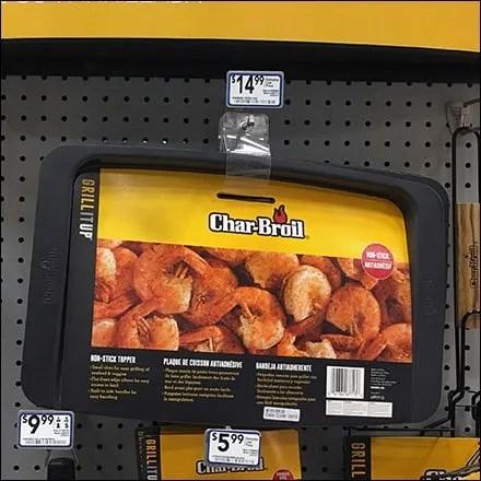 Char-Broil Vinyl Strap Hook Strategy