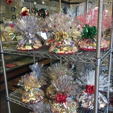 Christmas Bakery Buffet on Super Erecta Shelf 2