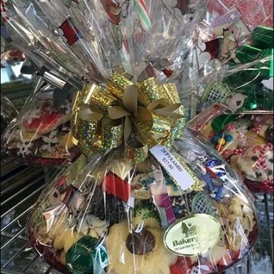 Christmas Bakery Buffet on Super Erecta Shelf 3