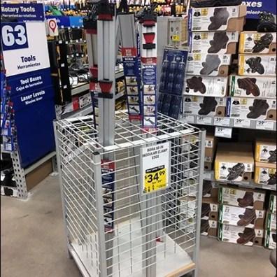 Saw Guide Merchandising Bulk Bin