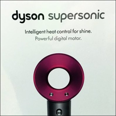 Dyson SuperSonic Hair Dryer Display Selling Points Feature1