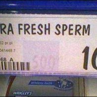 Sperm Bank Shelf Edge Labeling
