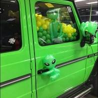 Mercedes Benz 2017 Alien Green Gremlins