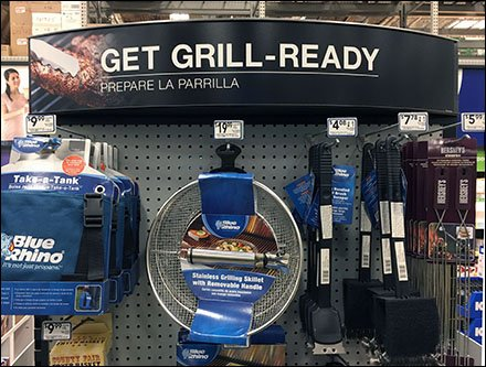 Get Grill Ready With Straight-Entry Hooks