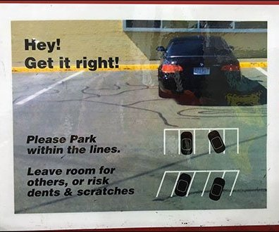 Get It Right Parking Instructions