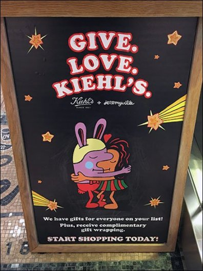 Give. Love. Kiehls. With Complimentary Gift Wrap