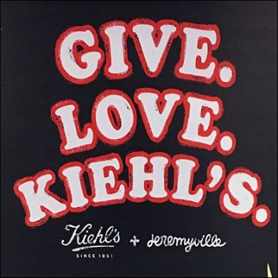 Give-Love-Kiehl's Gift Wrap Complimentary
