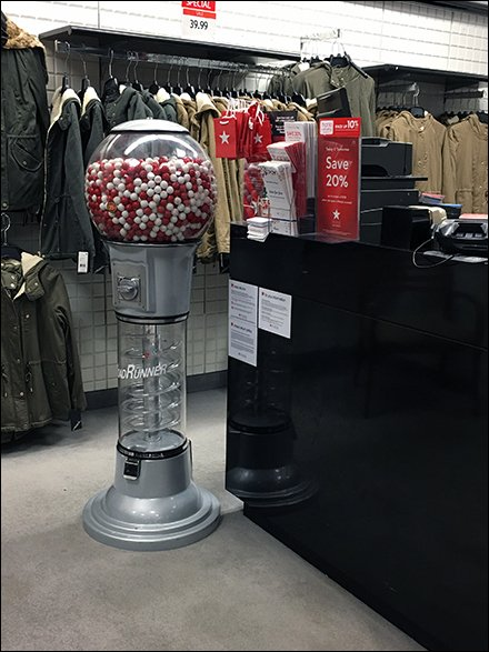 Branded Giant Gumball Machine By Macys