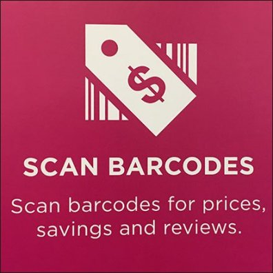 Kohls App Scan Bar Code Feature