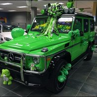 2017 Mercedes Benz G63 AMG Alien Green