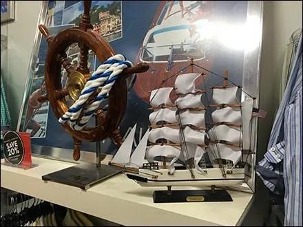 Seafaring Merchandising Props