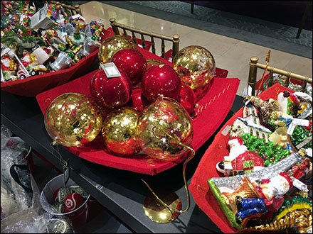 Neiman Marcus Table-Top Buffet of Ornaments