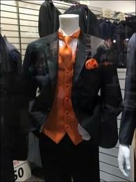 New Years Eve Sartorial Grace in Orange 2