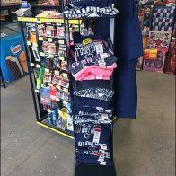 Officially Licensed Collegiate T-Shirt Tower
