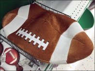 Fencing Footballs Of Various Sizes at Party City
