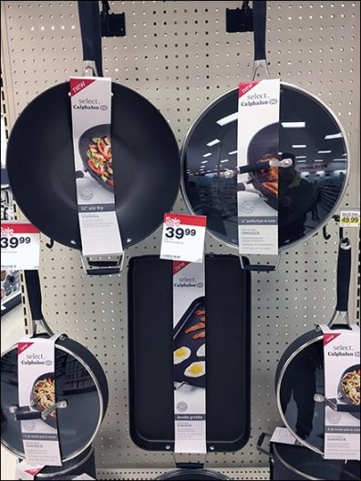 Select Calphalon Endcap Display 3
