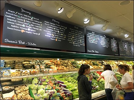 Seasonal Fresh Produce Calendar at Sickles Market