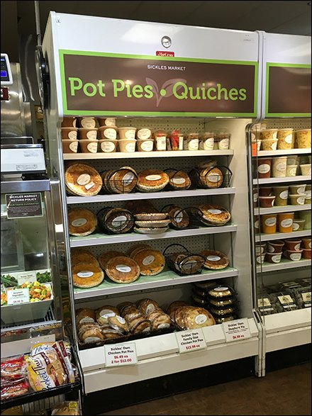 Pot Pie and Quiche Cooler Cross Sell
