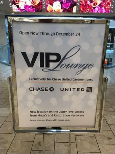 V.I.P. Lounge Sign 3