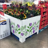 Warehouse Club Pallet-Load Floral Merchandising