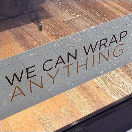 We Wrap Anything Merchandising Proposition