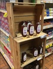 Wegman Organic Wildflower Honey Wood Crate 2