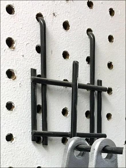 Heavy-Duty All-Wire Pegboard Backplate