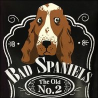 Wine and Spirits Fixtures - Bad Spaniels Take-Off on Jack Daniels
