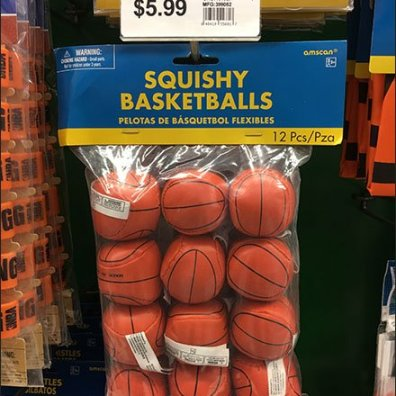 Hook Shot: Basketballs Sold By The Dozen