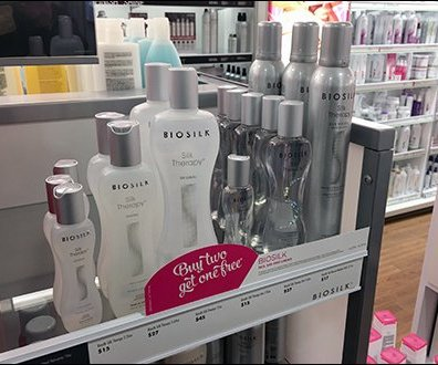BioSilk BOGO Shelf-Edge Buy 2 Get 1 Free
