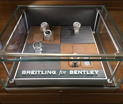 Breitling Bentley Wrist Watch Museum Case