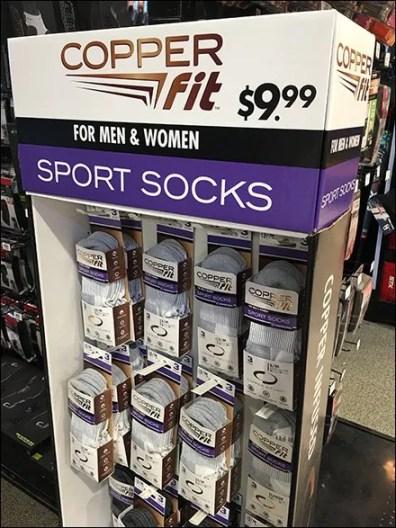 Copper Fit Unisex Sport Socks Standalone