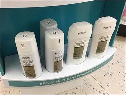 Deodorant Benefit Corrugated Merchandiser Front 4