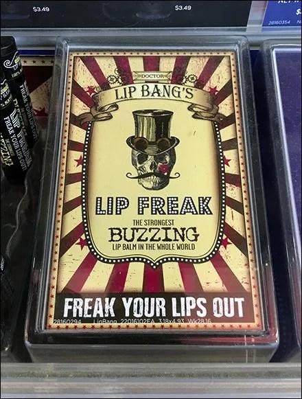 Dr Lip Bang's Lip Freak Buzzing Lip Balm